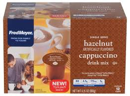 Biografia filmografia critica premi articoli e news trailer. Foods Co Fred Meyer Hazelnut Cappuccino Coffee K Cup Pods 12 Ct
