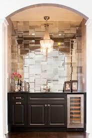 Mirror Backsplash In Kitchen Design Portfolio And Lookbook Toilets Pantry And Powder
