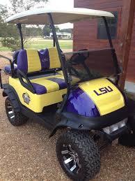custom louisiana state university club cart