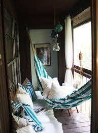Der Balkon   Unser Kleines Wohnzimmer Im Sommer Mit Hängematte