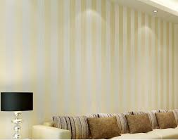simple style 3d fabric wallpaper beige and white stripes living room background home decor wallpaper souq uae