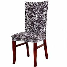 removable elegant chair cover stretch slipcovers short dining room ideas of dining chair covers