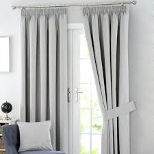blackout curtains in white solar grey blackout pencil pleat curtains  percent off off white blackout curtains . blackout curtains in white ...