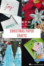 Paper Crafts For Christmas Best 1150 Christmas Ideas Crafts And Decorations Images On