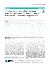 A Human Resource Inventory Is Designed To Reveal Whether Pdf Human Resource Technology Disruptions And Their