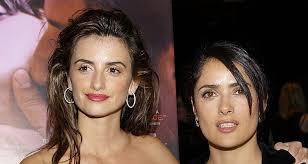 penelope cruz and salma hayek post makeup free photo on insram nicole richie follows the trend