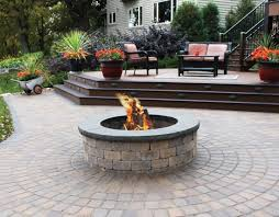 patio inspiration fireplaces fire