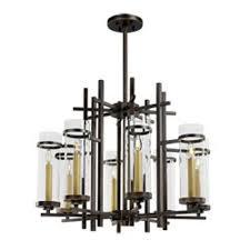 maxim lighting international midtown gold bronze led eight light chandelier