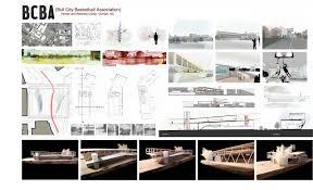 Interior Architecture Portfolio Sample interior design student