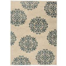exploded medallions starch 12 ft x 14 ft indoor area rug