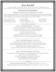 Job Description Of A Barista For Resume Barista Job Description Resume Best Of Best Ideas Sample Barista 44
