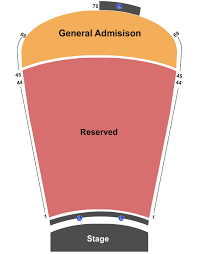 Seating Map Find The Best Seats At Red Rocks