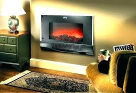 gas wall fireplace