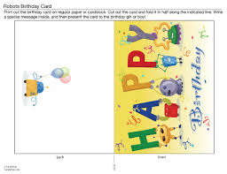happy birthday cards printable making a perfect printable