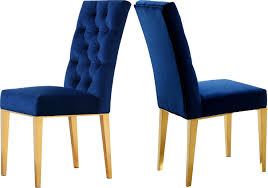 blue velvet dining chairs. Blue Velvet Dining Chairs D
