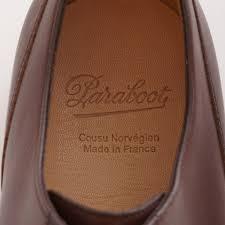 Paraboot Size Chart Paraboot Chambord Shoe Maroon