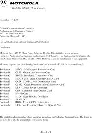 Cio Cover Letter Ihet5ap2 Sc4812etl 800mhz Cdma Bts Cover Letter Cover Motorola