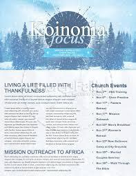Winter Retreat Snowy Church Newsletter Template Newsletter