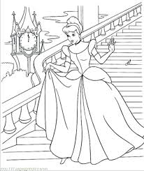 Cinderella Coloring Sheet Coloring Pages Cinderella Coloring Sheets