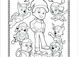 Coloring Pages Paw Patrol Coloring Pages Free Everest Birthday