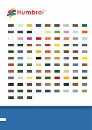 Airfix Model Paint Colour Chart Enamel Paints Matt Colours 14ml Humbrol Enamel Paint Has