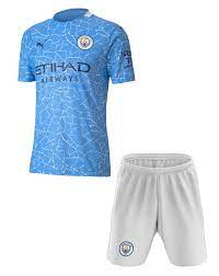 20/21 City Home Kids Kit with free name and number - CK4u