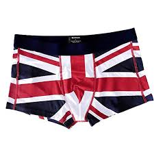 Gildan Boxer Brief Size Chart Alalaso Mens Underwear Brand Sexy Uk Flag Cotton Soft