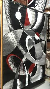 awesome abstract contemporary 5x8 red black white gray area rug modern regarding red black and gray area rugs
