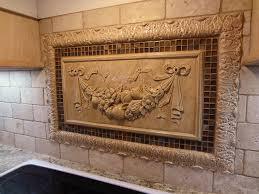kitchen backsplash mozaic insert tiles decorative medallion pertaining to inspirations 7