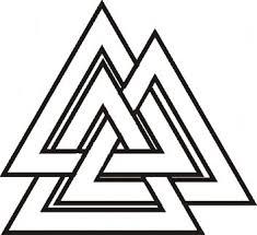 Valknut Symbol A V Něm Celý Svět Valknut Symbol A V Něm Celý