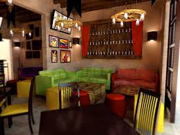 Interior Designer Blogs Custom Conceptual Interior Design For Bar Colombian Beer Station Angel