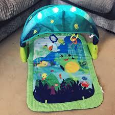Baby Play Mat Light Up Bright Starts Light Up Lagoon Activity Gym Pogot