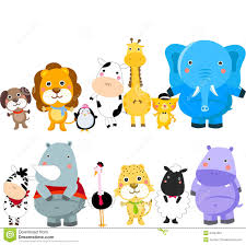 group of animals clipart. Brilliant Animals Group Of Animals Inside Of Animals Clipart O
