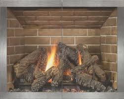 stoll contemporary fireplace doors manhattan frame