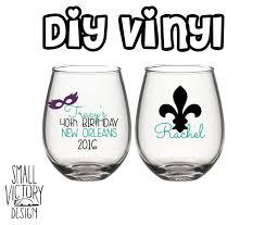 personalized new orleans birthday vinyl decals diy