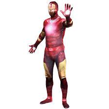 Halloween Purim Adult Kids Iron Man 3 Patriot Costumes Spandex Anime  SuperHero Cosplay Costume Zentai Suits Bodysuit
