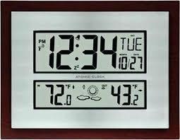 la crosse atomic wall clock la atomic wall clock la atomic wall clock la atomic digital