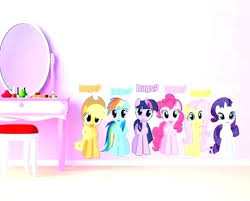 my little pony wall decals my little pony wall decals my little pony wall decor wall