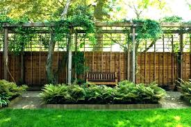 backyard privacy fence ideas patio privacy fence ideas backyard fencing landscape tall apartment