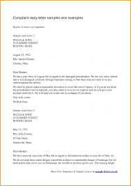 Letters Of Complaint 4 Sample Of Complaint Letter To A Bank Template Complaint