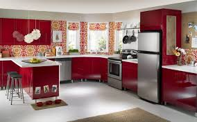 restaurant kitchen design simple designs for indian homes ideas uk 2016 outdoor colorful kitchens cool red