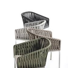 pvc outdoor patio furniture. pvc ribbon weaving outdoor chair patio furniture