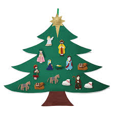 Christmas Trees That Hang On The Wall