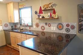 View in gallery. A mosaic backsplash ...