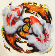 koi fish koi carp koi fish paintings koi fish acrylic paintings koi fish art koi fish