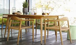 Best wood for indoor furniture Dining All With Clean Tapering Lines And Solid Teak Construction Perfect For Patio Seating In The Spring And Indoor Use In The Winter Gardenista Worlds Best Outdoorindoor Teak Furniture Gardenista