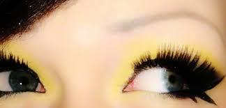 ble bee eye makeup by mrshazelton