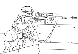 Small Picture 20 Free Printable Army Coloring Pages EverFreeColoringcom