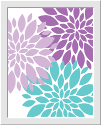 popular items for garden wall art on 3d paper flower nursery