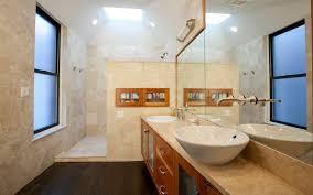 walk in bathroom ideas. Walk In Shower Bathroom Ideas White Futuristic Vanity Sink Wooden Cabinet Dark Grey